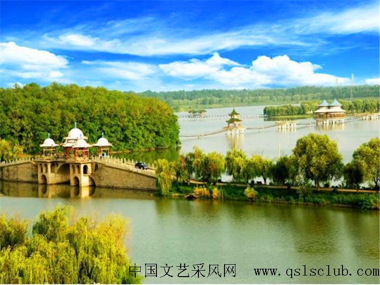 阜阳八里河风景区风景图片 - 安徽游山玩水旅游俱乐部